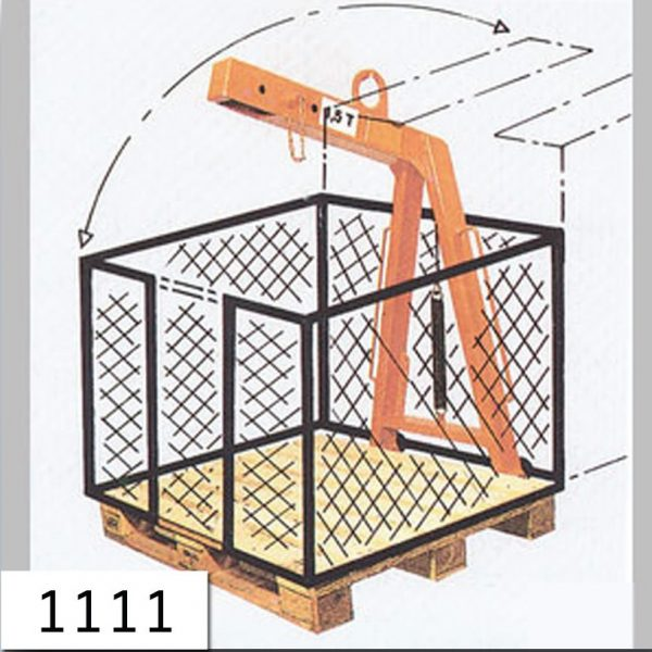 13000.8 - Lifting fork with protective wall