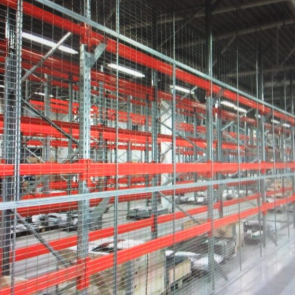 22000.7 - anti collapse mesh & industrial walls
