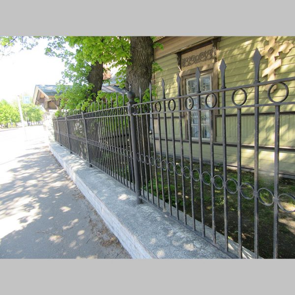 21000.3 - Ornament fence